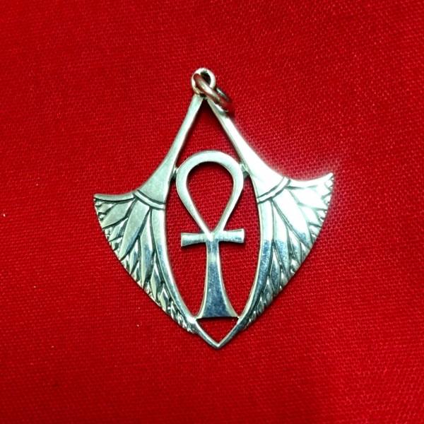 Ankh με φτερά για το Λαιμό
