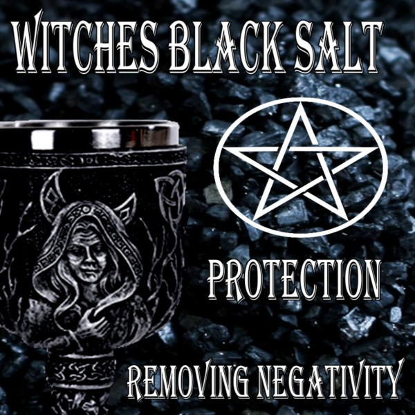Witches Black Salt (Για καθαρισμό και προστασία)