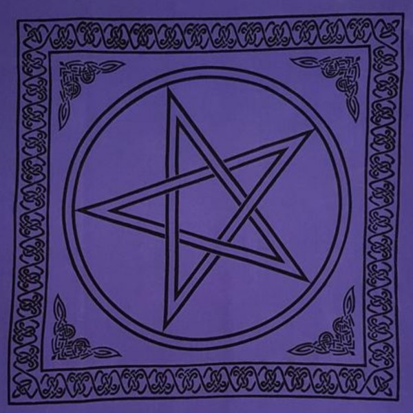 Altar Tarot Cloth (Blue)