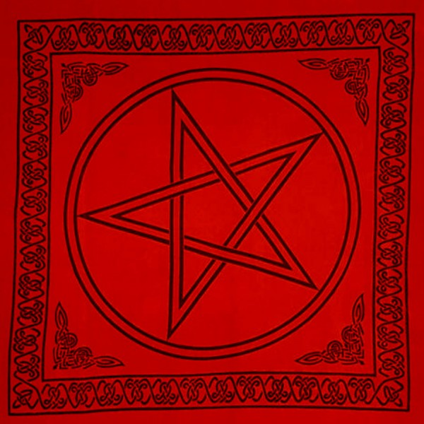 Altar Tarot Cloth (Red)